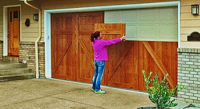 Garage door wraps exclusive garage door design idea - Garage door vinyl wrap ...