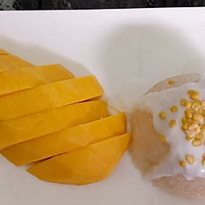 Mango Sweet Sticky Rice  (Seasonal)