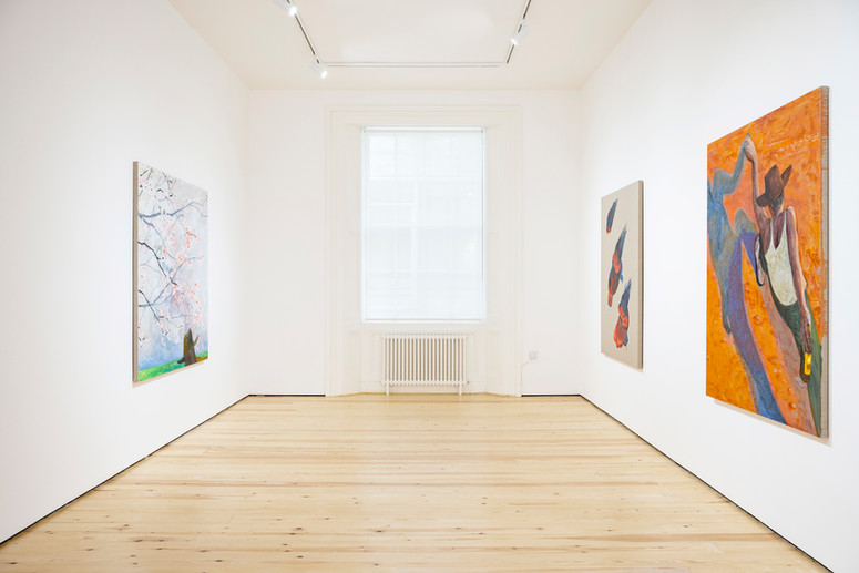 5.Installation view of Henry Curchod, Set Your Friends Free, MAMOTH, London, 2021. Image c