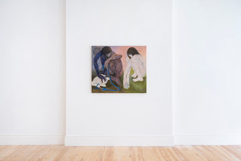 13.Installation view of Henry Curchod, Set Your Friends Free, MAMOTH, London, 2021. Image