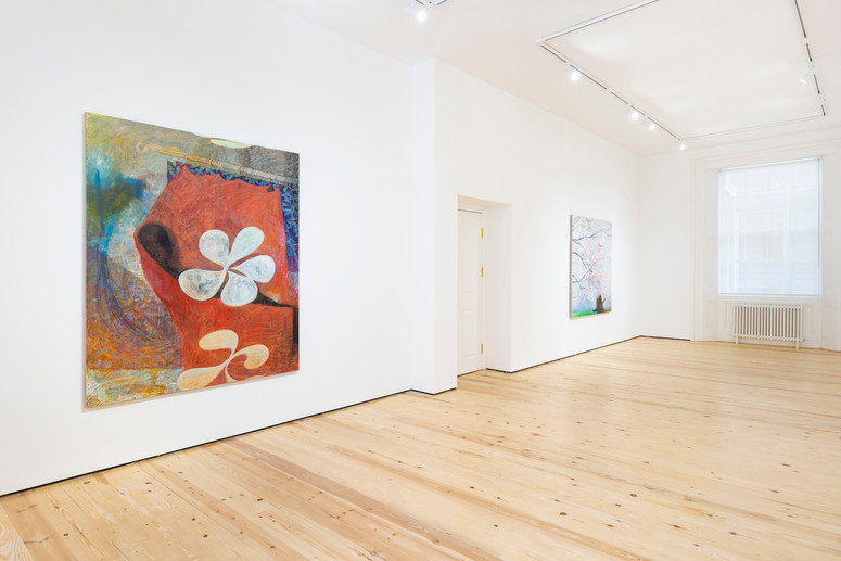 7.Installation view of Henry Curchod, Set Your Friends Free, MAMOTH, London, 2021. Image c