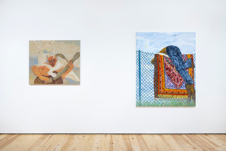 3.Installation view of Henry Curchod, Set Your Friends Free, MAMOTH, London, 2021. Image c