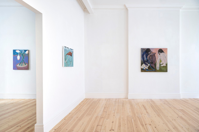 12.Installation view of Henry Curchod, Set Your Friends Free, MAMOTH, London, 2021. Image