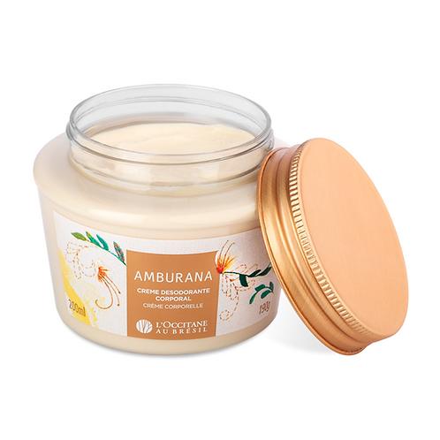 Creme Desodorante Corporal Amburana - 200ml