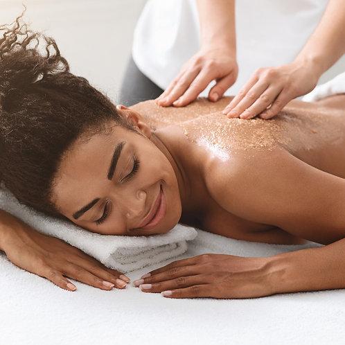 Esfoliacão Corporal + Massagem Hidratante - 5 sessões