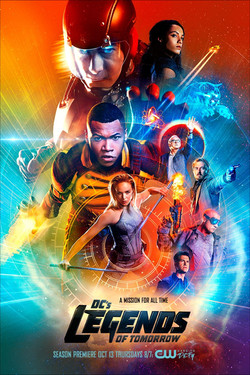 DCs Legends Of Tomorrow S2 Poster