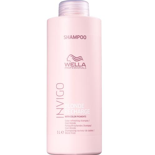 Shampoo Wella Invigo Blonde Recharge 1 litro