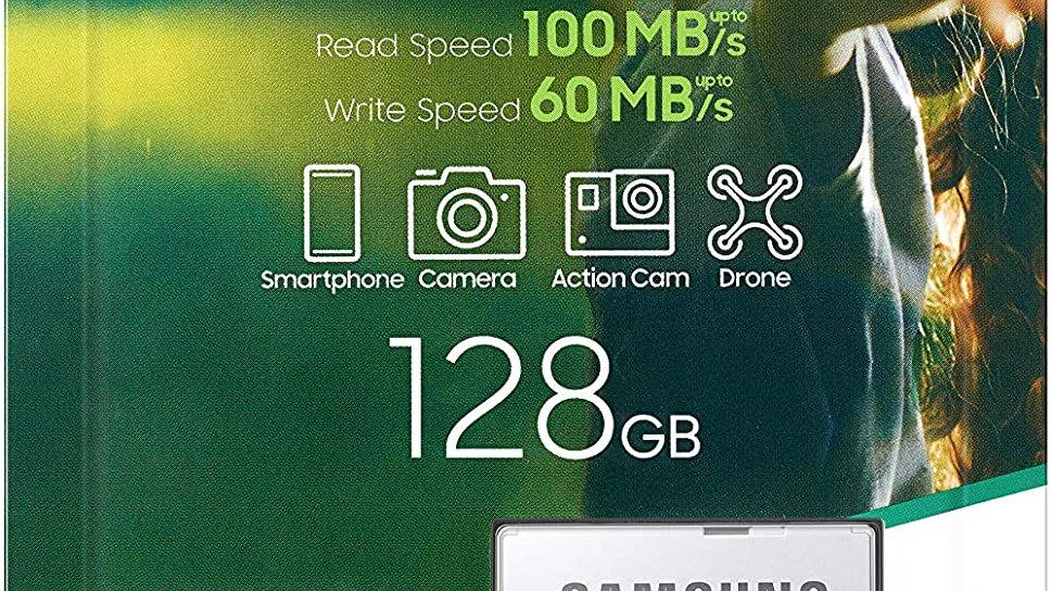 SAMSUNG: EVO Select 128GB MicroSDXC UHS-I U3 100MB/s Full HD & 4K UHD Micro Card