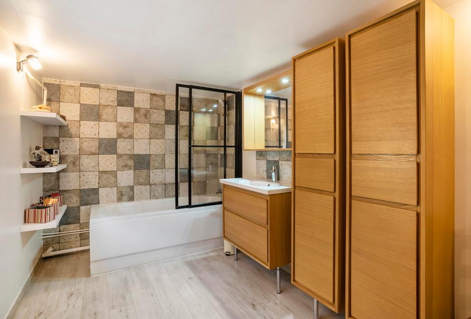 Salle de bain charmante