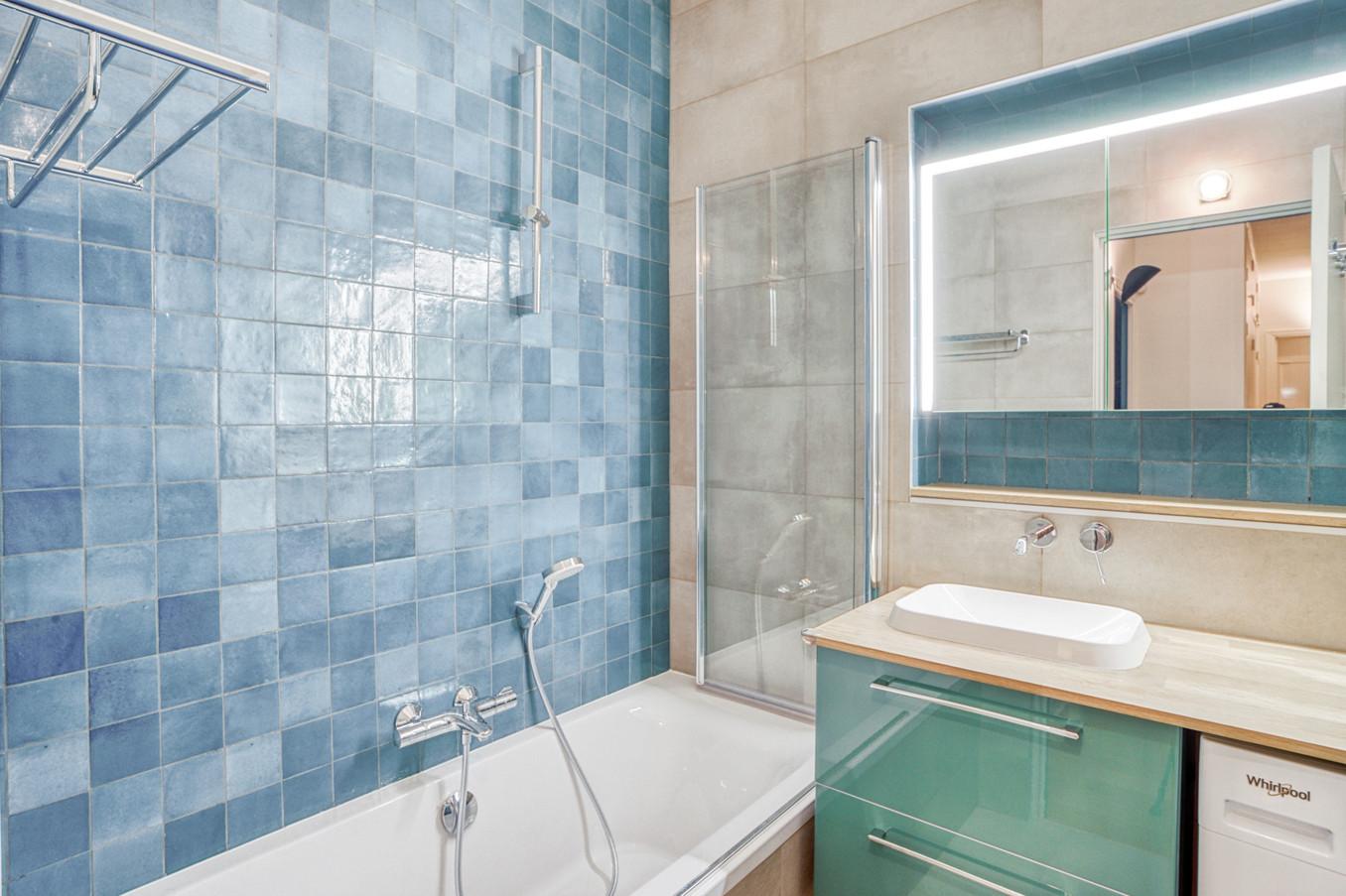 Réalisation de la salle de bain