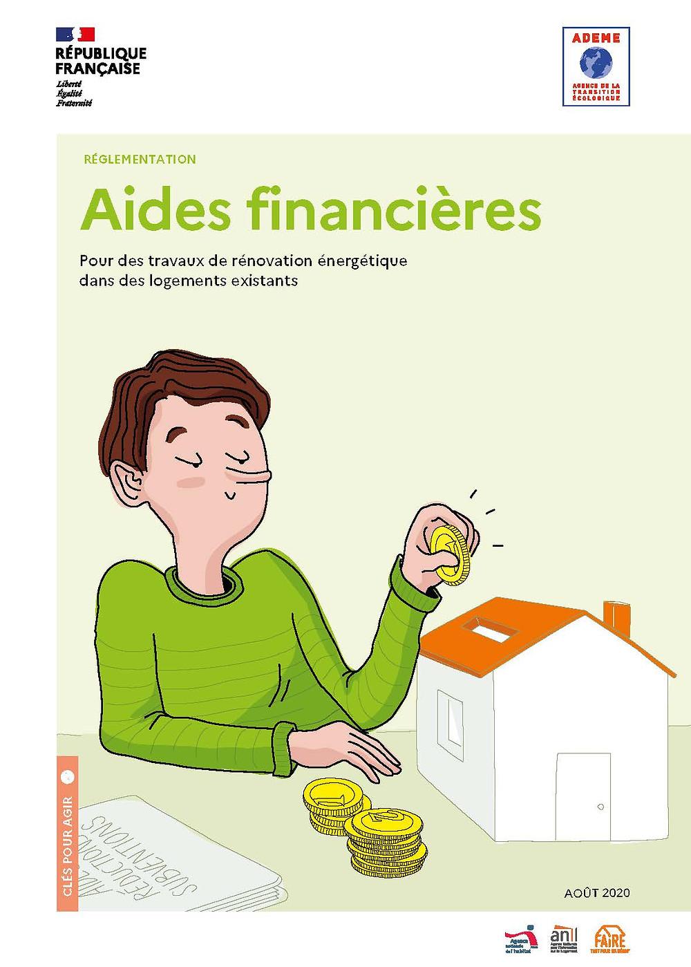 ADEME, aides financières rénovation, République Française, Réseau FAIRE, logements existants