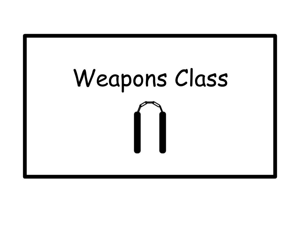 Weapons Class