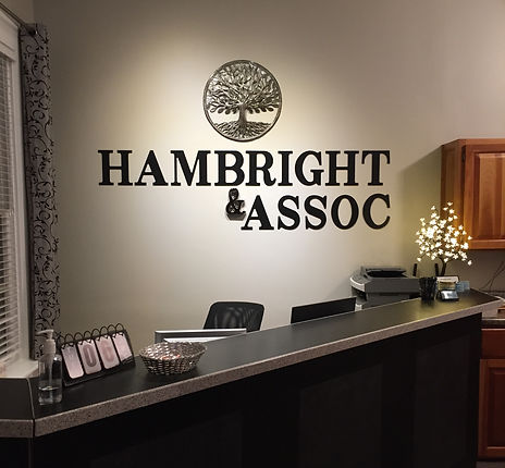 Front Desk at Hambright & Associates