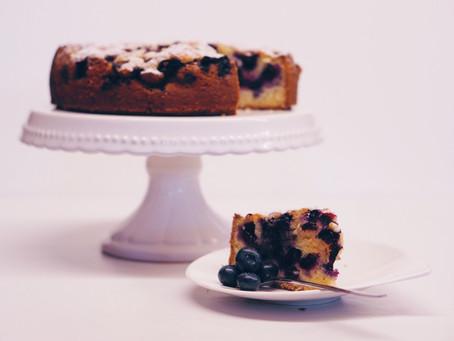 Heidelbeer-Kuchen