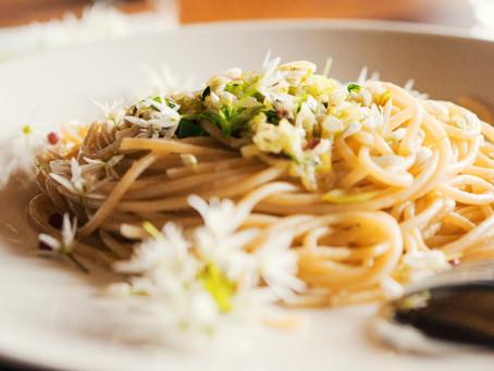 Blüten-Spaghetti