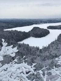 French Mountain frozen