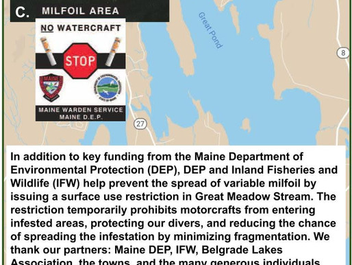 Surface Use Restriction: Great Meadow Stream 2019
