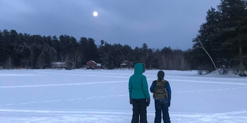 Evening Snowshoe