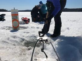 Lake Scientists Don't Hibernate!