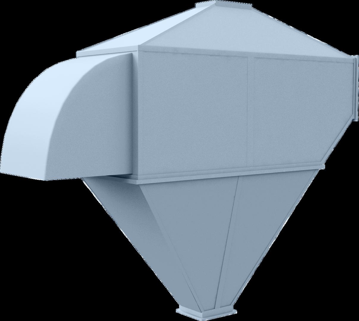 MC-10/5 Dust settling vessel