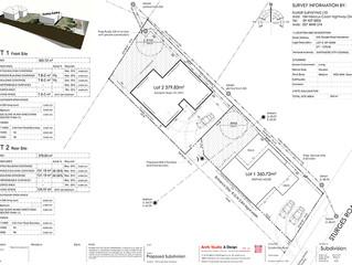 Proposed Subdivision - 3D Topo Plan