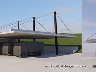Warehouse Canopy Design
