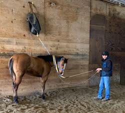 Dan Grunewald using The Ribbon Wand