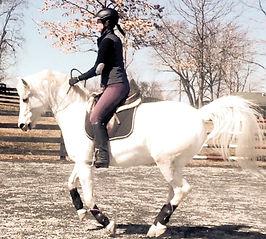 Mary Elena Moran, mounted police officer