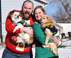 Merry Christmas in Ugly Sweaters