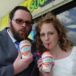 Our Wedding Slurpees