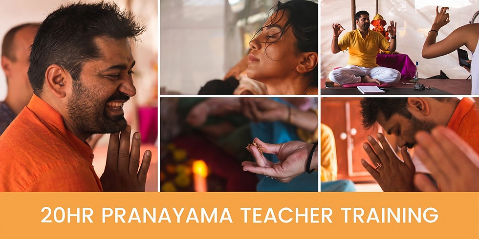 20hr Pranayama Teacher Training with Gaurav Malik