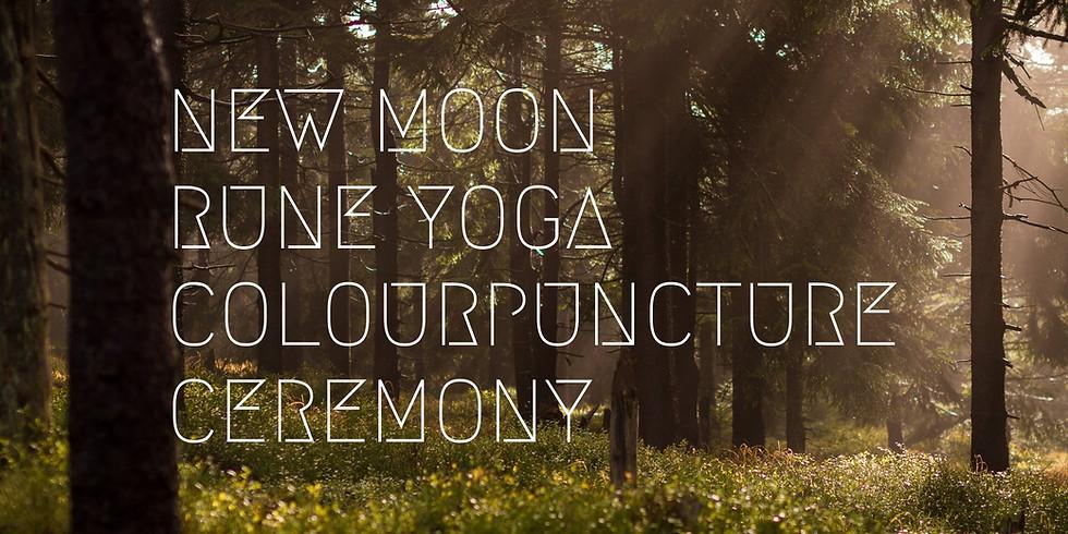New Moon Rune Yoga Colour-puncture Ceremony