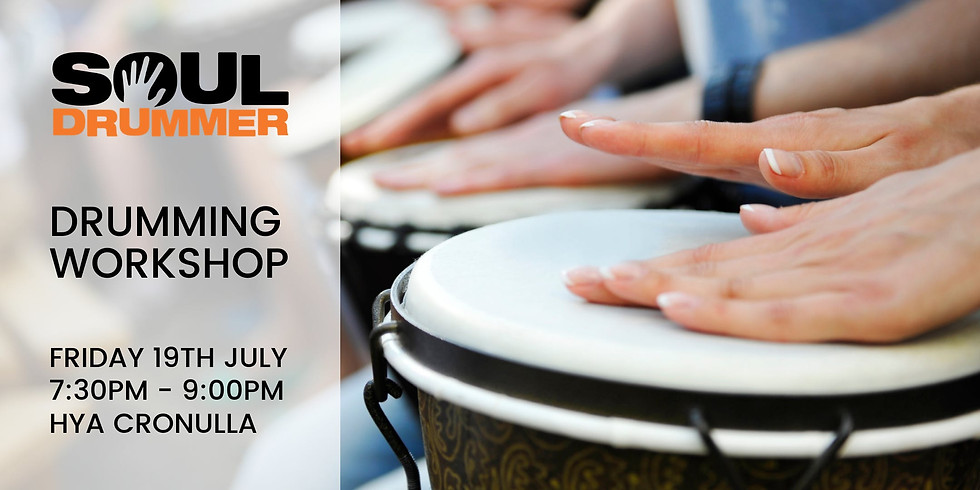 Drumming Workshop with Soul Drummer