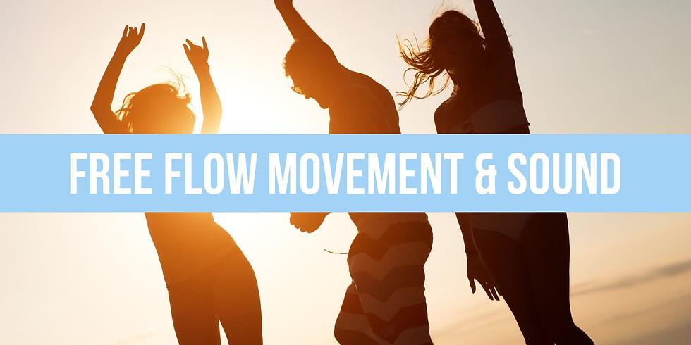 Free Flow Movement & Sound with Chris & Nina