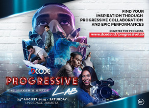 "DCODE PROGRESSIVE LAB! ""Find Your Inspiration Through Progressive Collaboration And Epic Performance"