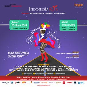 Princess Pantura, Romantika Musik Dangdut Dalam Panggung Teater Komedi