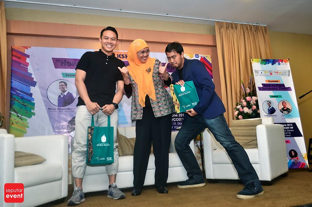 Universitas Mercu Buana Selenggarakan Talk Show How to Make a Successful event (4).jpg