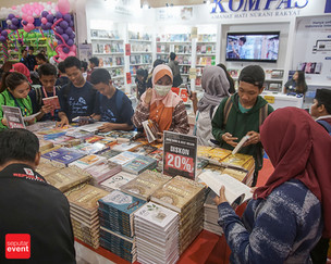 Zona Kalap IIBF 2019 Diserbu Pecinta Buku