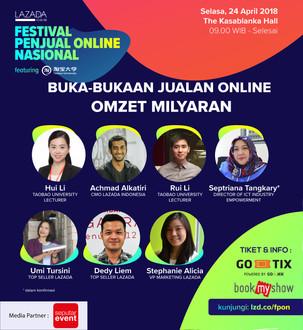 Festival Penjual Online Nasional featuring Taobao University