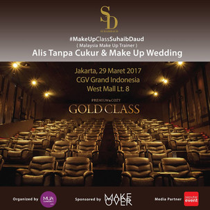 Beauty Workshop in Cinema: #MakeUpClassSuhaibDaud