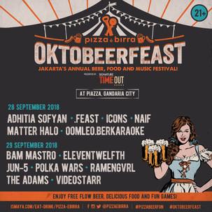Ayo Bergabung Dalam Festival Beer, Musik, Dan Makanan Di Jakarta: Pizza E Birra Oktobeerfeast 2018
