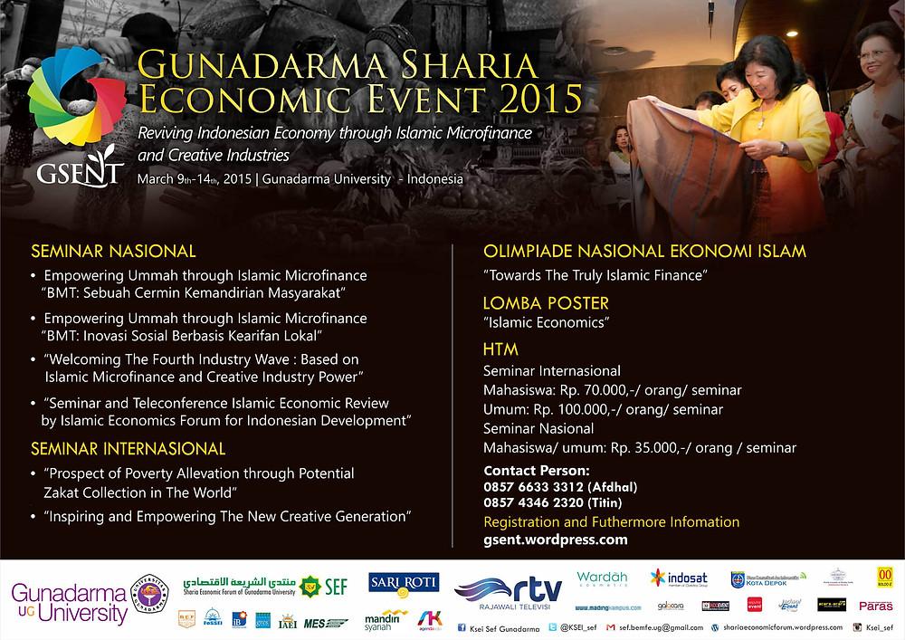 GUNADARMA SHARIA ECONOMIC EVENT (GSENT) 2015.jpg
