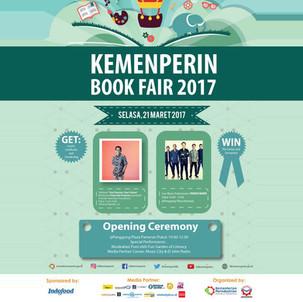 Kemenperin Book Fair 2017, Jakarta, 21-24 Maret 2017
