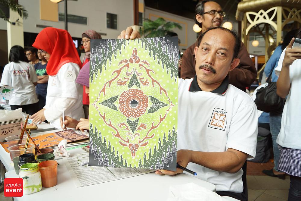 Pre-Event Bogor Fashion Food Festival 2015 Gelar Lomba Desain Motif Batik (3).JPG