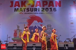 Jak-Japan Matsuri 2016 Eratkan Indonesia - Jepang