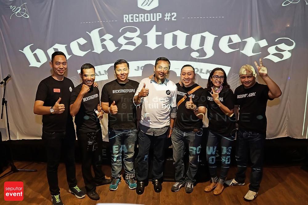 BACKSTAGERS ReGroup-2 Ajang Kumpul Pekerja Kreatif di Belakang Layar Panggung (4
