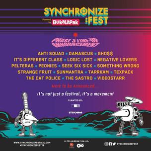Synchronize Fest Gandeng Kolektif Studiorama Dalam Mengkurasi Penampil di Gigs Stage
