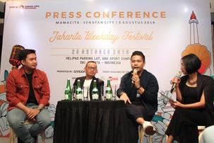 Jakarta Weekday Fest 2019 Akan Dipenuhi Artis Lokal Dan International