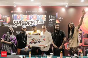 Tanpa Snow Patrol, Hodgepodge Superfest 2019 Pastikan Tetap Pukau Pengunjung
