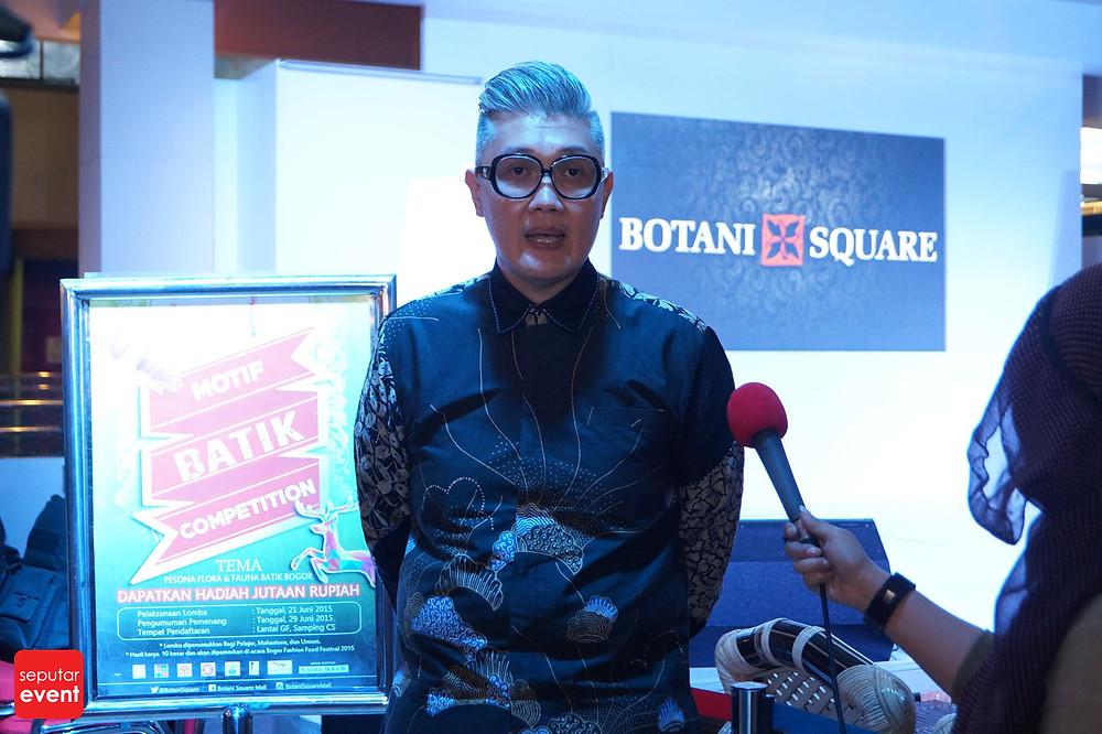 Pre-Event Bogor Fashion Food Festival 2015 Gelar Lomba Desain Motif Batik (12).JPG